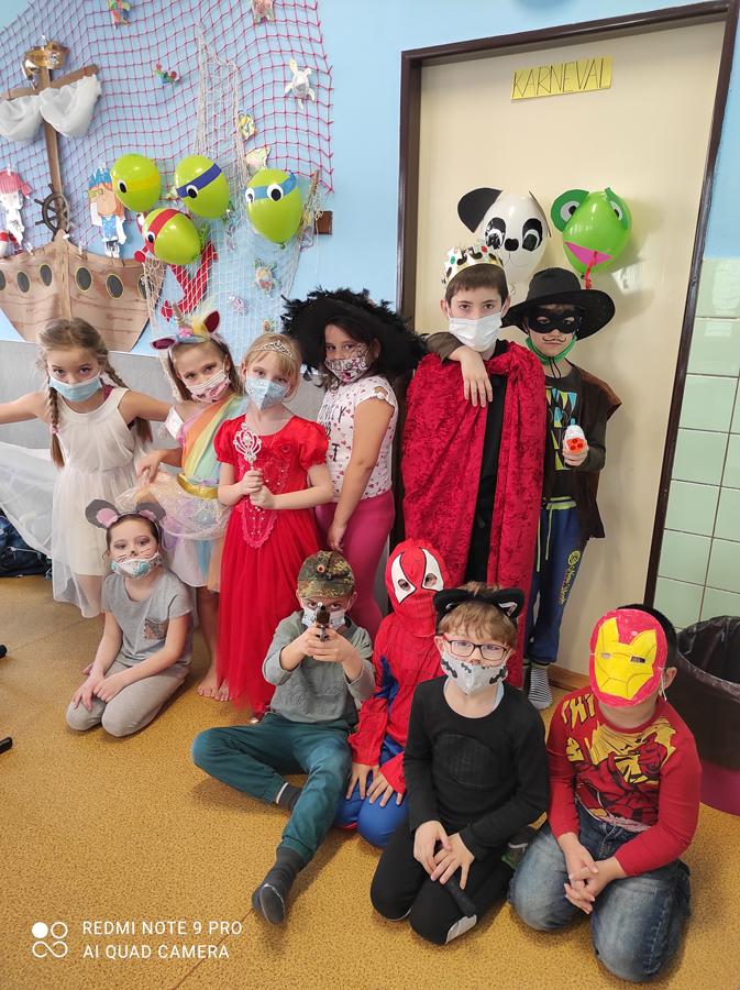 Karnevalový týden ve školní družině